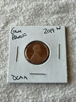 2019 W WEST POINT GEM PROOF DEEP CAMEO LINCOLN PENNY. BEAUTI