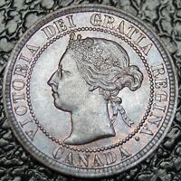 OLD CANADIAN COIN 1894   LARGE CENT   VICTORIA   NICE   NCC