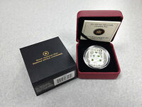 2011 ROYAL CANADIAN MINT $20 SILVER COIN: CHRISTMAS TREE W/ CRYSTALS