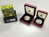 2013 BUTTERFLIES OF CANADA   TIGER SWALLOWTAIL SET: $20 SILVER AND 50 CENT COINS