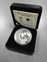 2007 ROYAL CANADIAN MINT $25 SILVER COIN: 2010 OLYMPICS   ATHLETES' PRIDE