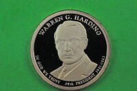 2014 S GEM PROOF  WARREN G HARDING DEEP CAMEO US PRESIDENTIAL ONE DOLLAR