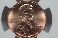 2009 LINCOLN CENT PENNY PROFESSIONAL LIFE FIRST DAY CEREMONY NGC MS68  MS 68