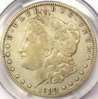 1893-O MORGAN SILVER DOLLAR $1 - PCGS VF DETAILS -  DATE - CERTIFIED COIN
