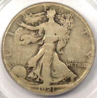 1921 D WALKING LIBERTY HALF DOLLAR 50C   PCGS G6    KEY CERTIFIED COIN