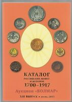 CATALOG COINS RUSSIA 1700 1917 NEW