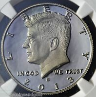 2013 S CLAD KENNEDY HALF DOLLAR 50C NGC GRADED PF 69 PROOF ULTRA CAMEO
