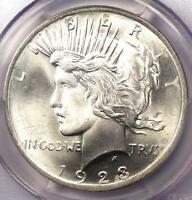 1923 PEACE SILVER DOLLAR $1   PCGS MS66 CAC PQ