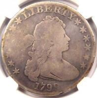 1799 DRAPED BUST SILVER DOLLAR $1 BB 157 B 5   NGC AG DETAILS    COIN