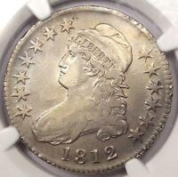 1812 CAPPED BUST HALF DOLLAR 50C O 104A   NGC XF DETAILS EF      CERTIFIED