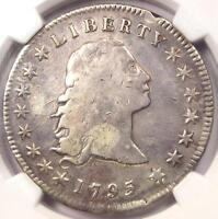 1795 FLOWING HAIR SILVER DOLLAR $1   CERTIFIED NGC FINE DETAILS    COIN