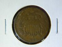 1865   TWO CENT COIN    1550