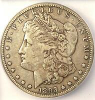 1893-O MORGAN SILVER DOLLAR $1 - ICG EXTRA FINE 40 EF40 -  DATE - CERTIFIED COIN