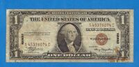 $1 1935A HAWAII  SILVER CERTIFICATE / WWII EMERGENCY ISSUE CURRENCY