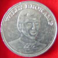 VOETBAL PENNING 1970 SHELL   WILLY BROKAMP [B5 2