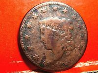 1830 LIBERTY HEAD MATRON HEAD EARLY COPPER LARGE CENT   CORONET HEAD 5