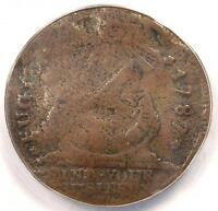1787 FUGIO CENT 1C   ANACS VF20 DETAILS VERY FINE    COLONIAL COIN