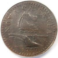 1787 NEW JERSEY HORSE COLONIAL COPPER COIN   CERTIFIED ANACS VF30 DETAILS