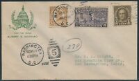 E15 ON FIRST DAY COVER BY ALBERT GORHAM NOV 29 1927 BS6222