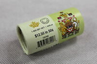 2015 ROYAL CANADIAN MINT 50 CENT SPECIAL WRAP ROLL  25 X $0.50