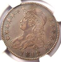 1812 CAPPED BUST HALF DOLLAR 50C   NGC XF40 PQ EF40    DATE COIN