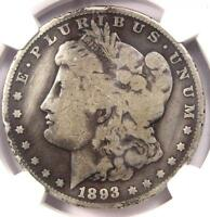 1893-O MORGAN SILVER DOLLAR $1 - NGC GOOD DETAILS -  CERTIFIED KEY DATE COIN