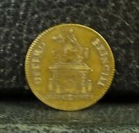 JETON ROYAL 1776 OPTIMO PRINCIPI  FRENCH TOKEN MEDAL.