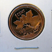 1994  PROOF   ONE   CENT   COIN   WITH   FROSTED   FINISH