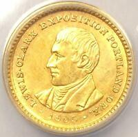 1905 LEWIS & CLARK GOLD DOLLAR G$1 - ANACS AU58 DETAILS -  CERTIFIED COIN