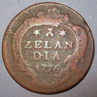 COA 1776 MAGIC KEYDATE DATE OF INDEPENDENCE COLONIAL NEW YORK PENNY ZEELAND $$