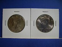 2001 P&D SET KENNEDY HALF DOLLAR COINS FROM MINT ROLLS BRILLIANT UNCIRCULATED
