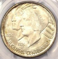 1936 D ARKANSAS HALF DOLLAR 50C COIN   PCGS MS67    IN MS67   $2,000 VALUE