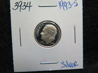 1993 S 10C SILVER ROOSEVELT DIME. PROOF SILVER DIME. STORE SALE 3934