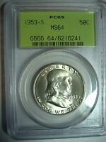 1953 S MS64 FRANKLIN HALF DOLLAR INTRODUCTORY OFFER
