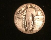 1928 25C STANDING LIBERTY QUARTER FINE OR BETTER