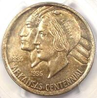 1937 S ARKANSAS HALF DOLLAR 50C COIN   PCGS MS66    IN MS66   $1,250 VALUE