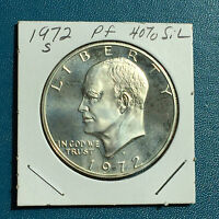 1972 S EISENHOWER PROOF 40 SILVER COIN