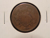 1868  TWO CENT PIECE.  TYPE COIN