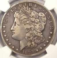 1893-O MORGAN SILVER DOLLAR $1 - NGC VF30 -  KEY DATE - CERTIFIED COIN