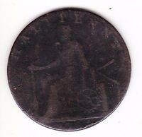 1790 MACCLESFIELD   CHARLES ROE COPPER WORKS HALFPENNY CONDER TOKEN