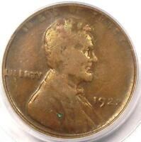 1922 PLAIN NO D STRONG REVERSE LINCOLN WHEAT CENT 1C   PCGS VF35   $1,500 VALUE