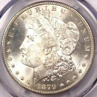 1879-S REVERSE 1878 MORGAN SILVER DOLLAR $1 - PCGS MINT STATE 64 PQ PLUS - $2,000 VALUE