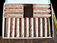 50 LINCOLN   WHEAT CENT ROLL   FROM  THE 1930'S TO 1939'S