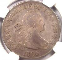 1805 DRAPED BUST HALF DOLLAR 50C O-112 - NGC VF DETAILS -  CERTIFIED COIN