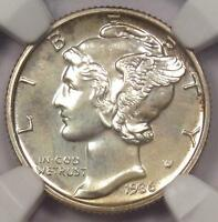 1936 PROOF MERCURY DIME 10C   NGC PR66 PF66    IN PR66   $1,910 VALUE