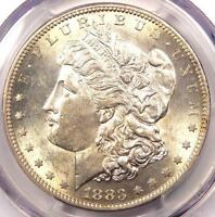 1883 S MORGAN SILVER DOLLAR $1   PCGS AU58 PQ    DATE IN AU58   NEAR MS/UNC