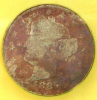 1885 LIBERTY NICKEL 5C   ICG GOOD DETAILS G4    KEY DATE CERTIFIED COIN
