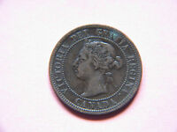 2 1900 H CANADA CANADIAN LARGE CENT COIN  CANADIAN ONE CENT