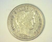 1913 BARBER DIME LY FINE     RE 346202 RG