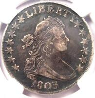 1803 DRAPED BUST HALF DOLLAR 50C  - NGC EXTRA FINE  DETAILS EF -  $2,100 VALUE IN EXTRA FINE 40